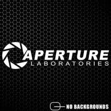 Aftershock Decals Aperture Laboratories Sticker Science Portal Research Vinyl Borealis Decal
