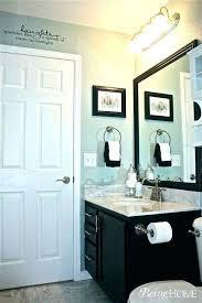 light blue tan best bathrooms