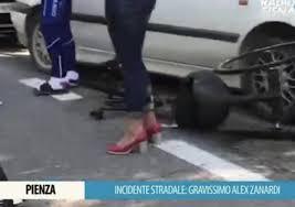 Alex Zanardi: grave incidente con l'handbike. Stabile ma ancora ...