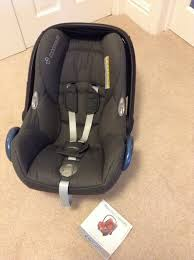 baby car seat maxi cosi cabriofix and