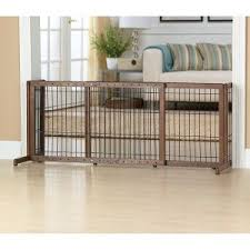 Top Paw Adjustable Stand Alone Pet Gate Freestanding Dog Gate Dog Gate Pet Gate