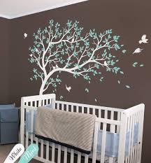 Amazon Com Large Tree Wall Sticker Baby Room Nursery Tree Wall Decal Wall Art Decoration 032r Handmade