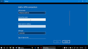 Windows 10 Built in VPN Settings what it is all about - YouTube