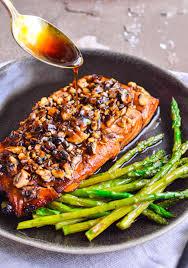 Bourbon Brown Sugar Salmon Recipe - The ...
