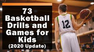 73 basketball drills and games for kids