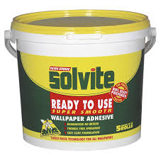 solvite ready to use wallpaper paste