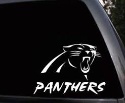 Carolina Panthers Logo Car Truck Window Laptop Bumper Vinyl Decal Sticker Ebay