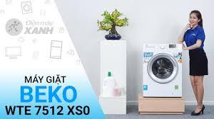 Đánh giá máy giặt Beko Inverter 7 kg WTE 7512 XS0