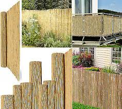 Papillon Thick Reed Bamboo Style Natural Garden Fence Screening Roll Privacy Sun For Sale Ebay