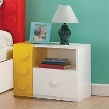 Silhouette 3 Piece Kids Bedroom Set With Twin Metal Bed And Nightstand With Chest 1907450 Pkg