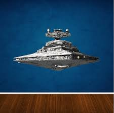 Imperial Star Destroyer From Star Wars Wall Decal Star Wars Wall Decal Star Destroyer Wall Design Primedecals