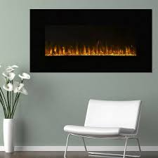 electric fireplace wall mounted led
