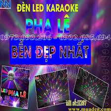 Giá rẻ bất ngờ! ĐÈN LED trang trí karaoke PHA LÊ 7 MÀU cho tết 2020