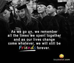 quote from friends forever by vitamin c graduation quotes