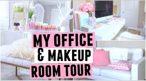 my new office makeup room tour you