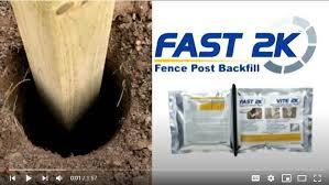 Fast 2k Fence Post Backfill H B Fuller