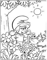 Kids N Fun 59 Kleurplaten Van Smurfen