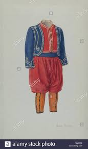 Child's Soldier Suit. Dated: c. 1938. Dimensions: overall: 41.7 x 24.8 cm  (16 7/16 x 9 3/4 in.). Medium: watercolor and graphite on paper. Museum:  National Gallery of Art, Washington DC. Author: Adele Brooks Stock Photo -  Alamy
