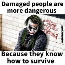 damaged people are more dangerous joker quotes best joker