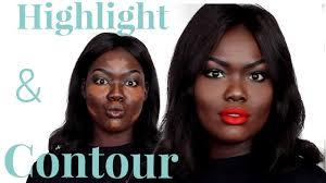 contour tutorial 2016 for dark skin