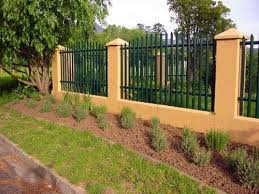 Palisade Fencing Are Used For The Boundary Around Your Premises Which Is Safe Secure And Clear To See We Are Offering You Fence Boundary Walls Palisade Fence