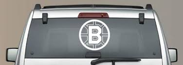 Boston Bruins Inspired Window Car Decal Hockey Team Inspired Car Decal Ebay Car Car Decals Car Window