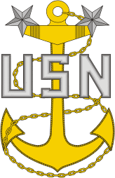 Sticker U S Navy Master Chief Petty Officer Rank Insignia Collar Device M C Graphic Decals