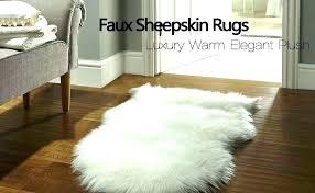 faux sheepskin rug ikea ink co
