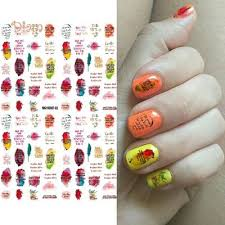 Fancystyle Nail Art 3d Diy Christmas Letter Leaf Adhesive Stickers Decal Manicure Decor Buy At Low Prices In The Joom Online Store