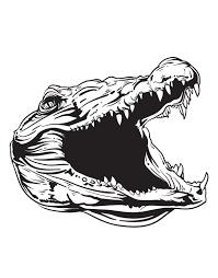 Alligator Gator Head Vinyl Wall Decal Sticker 1488 Stickerbrand
