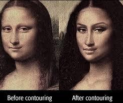 mona lisa contour meme jennysue makeup