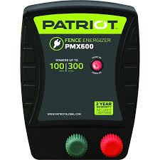Patriot Patriot Pmx600 Fence Energizer 6 0 Joule In The Electric Fence Chargers Department At Lowes Com