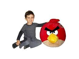 angry birds 16 deluxe plush red bird