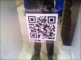 Qr Window Decal Is Transparent Fixtures Close Up Graphic Design Advertising Web Banner Design Ads Creative
