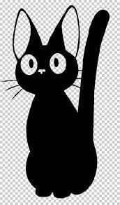 Jiji Kiki S Delivery Service Vinyl Car Decal Studio Ghibli Characters Kiki S Delivery Service Cat Cartoon Styles