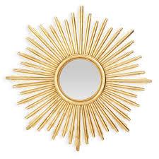 le soleil round sunburst mirror