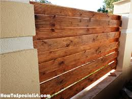 How To Build A Concrete Fence With Wooden Panels Howtospecialist How To Build Step By Step Diy Plans