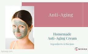 homemade anti aging creams mask