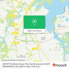 How to get to 385 RT-18 (State Route 18), East Brunswick (EAST BRUNSWICK),  NJ 08816 in East Brunswick, Nj by Bus, Train or Subway | Moovit