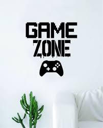 Game Zone Wall Decal Quote Home Room Decor Decoration Art Vinyl Sticke Boop Decals
