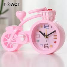Kids Alarm Clock Table Clocks In The Children S Room Wake Up For Kids Cute Alarm Watch Digital Cartoon Bike Despertador Infantil Akolzol Com