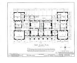 historic home floor plans