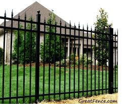 Aluminum Fence Aluminum Fencing Greatfence Com