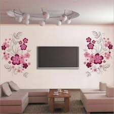 Removable Vinyl Wall Stickers Flowers Living Room Home Decoration Wall Decals Ebay