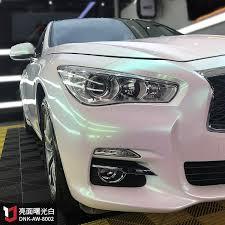 glossy AURORA white! elegant!... - DEREK CAR VINYL WRAPS | Facebook