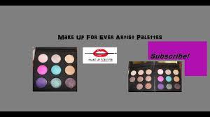 review makeup forever artist palette 1