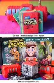 Spy Code Operation Escape Room Kid S Board Game Toy Review Puzzles Stem Toys Escape Room Board Games For Kids Family Board Games
