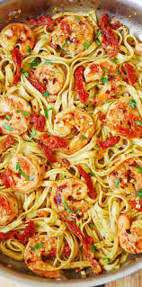 Shrimp Scampi Pasta with Sun-Dried ...