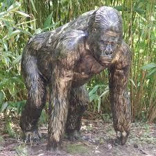 life size bronze metal garden statue