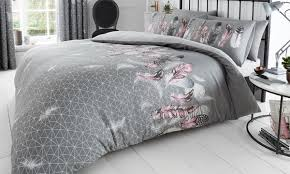 feathers and erfly duvet set